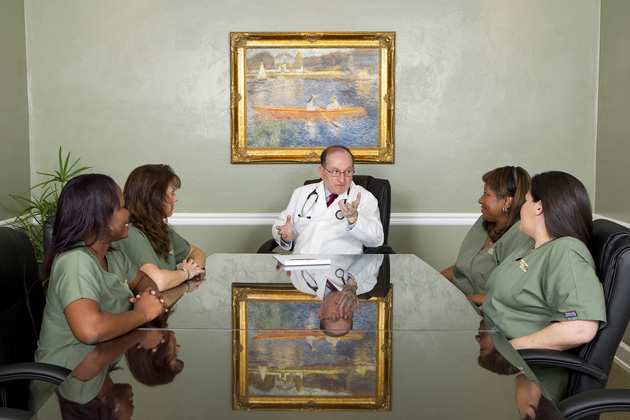 Dr. Rassam and Team