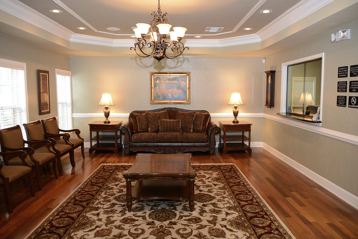 Tallahassee Cancer Institute Reception Area